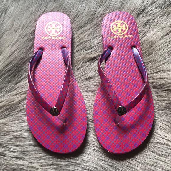 0236bb2ff277 New Tory Burch Pink Rubber Flip Flops 9. M 5b6de9127ee9e2d7238c408d